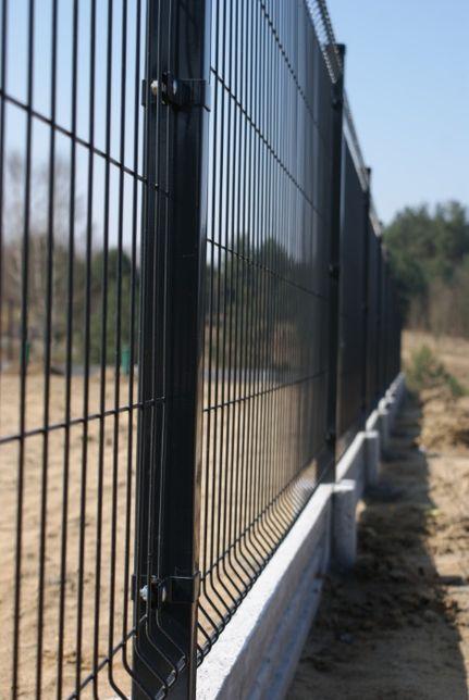 Panele ogrodzeniowe, Panel ogrodzeniowy, antracyt, wys. 1,53 cm, fi4mm
