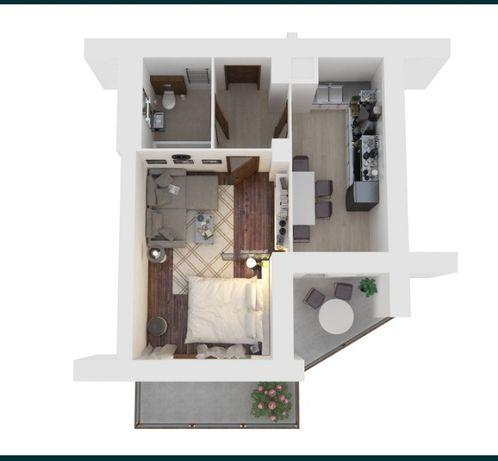 1- кімнатна квартира на Сихові