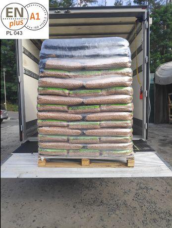 PELLET Certyfikowany - ENplus A1 – ENVUN. Najwyższa jakość 6 mm Winda