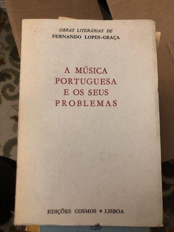A música portuguesa e os seus problemas de Fernando Lopes Graça