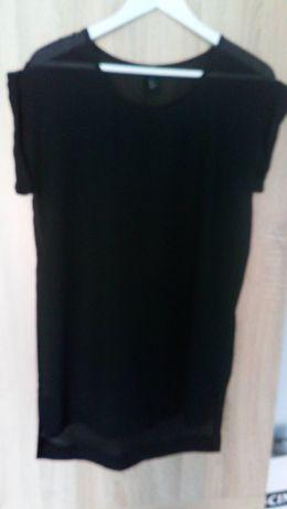 H&M czarna tunika rozmiar S
