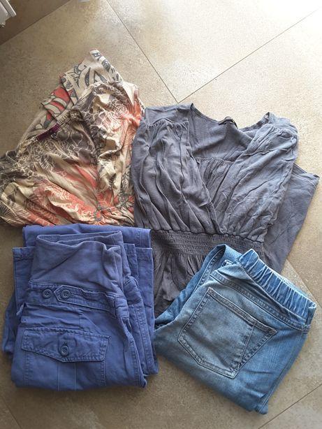 Ubrania ciążowe, spodnie h&m r. 36