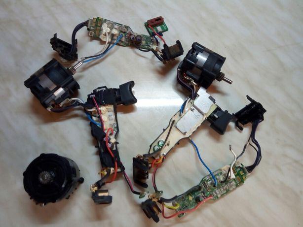 Ремонт шуруповертов,кнопок,аккумуляторов ,кнопка(драйвер)dewalt