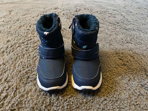 Buty, buciki KangaROOS dla chłopca - śniegowce