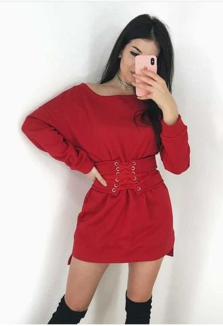 Платье трехнитка