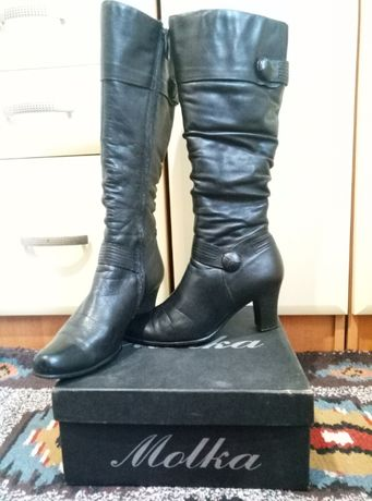 Сапоги женские кожаные Molka 37