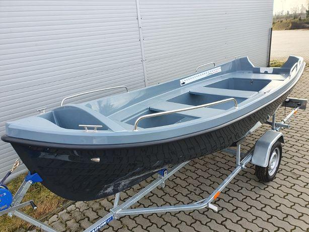 Łódź łódka wiosłowa wędkarska POLPORT 430 NOWOŚĆ