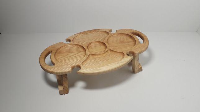 Винний овальний столик