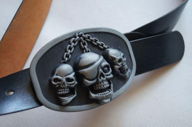 Pasek Trapped Skulls USA orginal