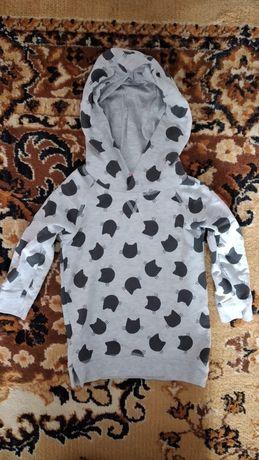 Tunika (sukieneczka) z kapturem 12-18 miesięcy