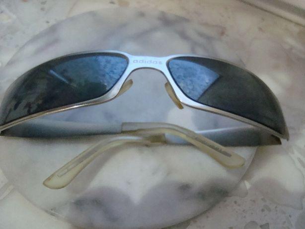 Adidas okulary przeciwsłoneczne srebrne