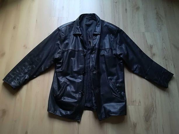 Skórzana kurtka vintage