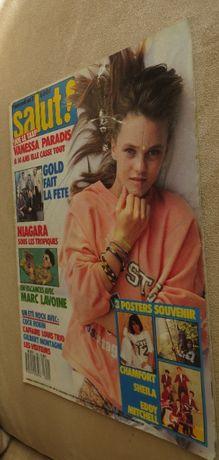 Salut Música anos 80 Especial Vanessa Paradis - Francês