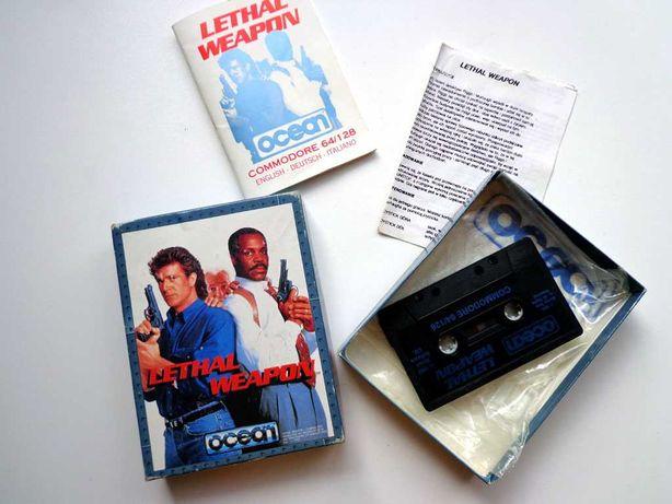 Lethal Weapon - Zabójcza Broń - Commodore C64/C128  - BOX