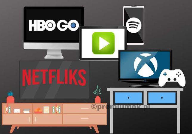 NETFLIX 30/60/90/180/360   SPOTIFY   XBOX   HBO GO   24h AUTOMAT