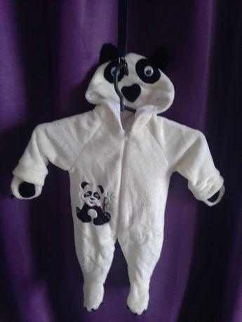 Костюмчик панды новый