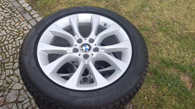 Koła felgi BMW 19 Styling 450 X5 X6 F15 5x120 255/50/19 Pirelli TPMS