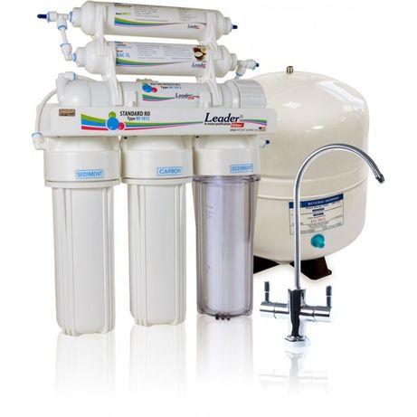 Фильтр обратного осмоса Leader Standart RO-6, фильтр для воды купить