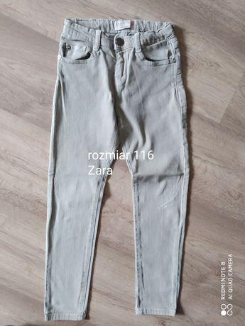 spodnie rurki Zara rozmiar 116