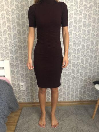 Платье миди,платье ниже колен,длинное платье фирмы Forever 21