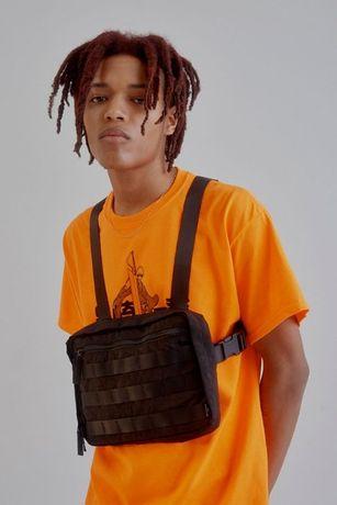 Urban Outfitters Chest Rig Bag nerka torba torebka black czarna tymek