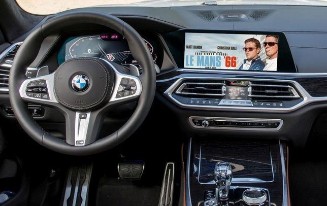 BMW Nawigacja MGU NBT EVO ID4 ID5 ID6 Odblokowanie DVD Filmów VIM