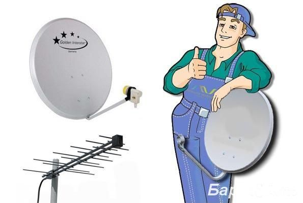 Спутниковое ТВ-Украинские каналы без абонплаты-установка,настройка.