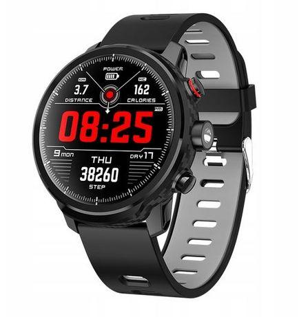 PROMOCJA! Zegarek męski SMARTWATCH L5 Wodoodporny Puls Kroki Ciśnienie