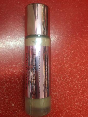 Makeup Revolution профессиональный тональный крем и консилер 2в1