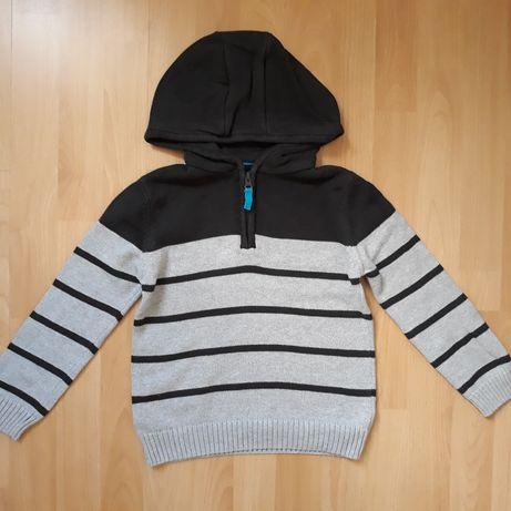 F&F sweter dla chłopca 122cm