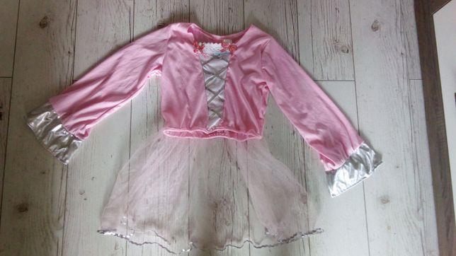 Bluzka tunika na przebranie 7-10l