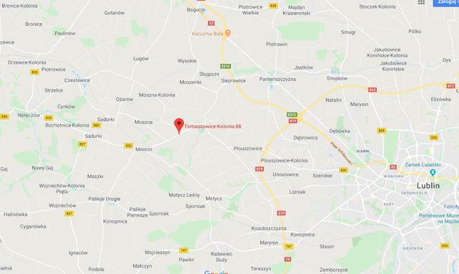 Działka rolno budowlana 3,01 ha przy trasie Lublin Nałęczów