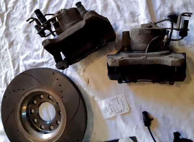 Zaciski Tarcz Hamulcowych 312 Prawy Lewy Oryginał Sprawne Audi 2.0 TDI