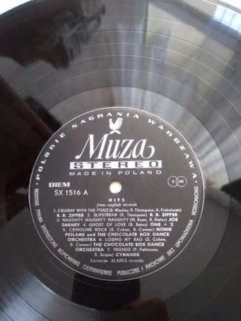 Hits from English records. Winyl