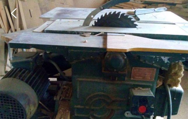 Станок деревообрабатывающий ( фрезер, фуганок, циркуляра)