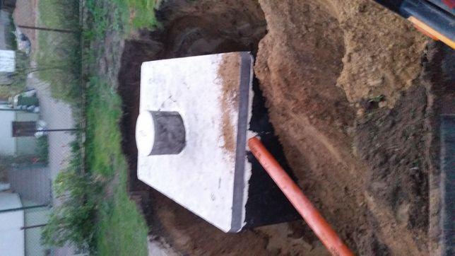 Szamba betonowe szczelne kompleksowo rozne  zbiornik na deszczówkę