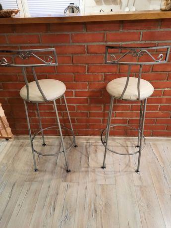 Hokery  krzesła barowe kute metaloplastyka