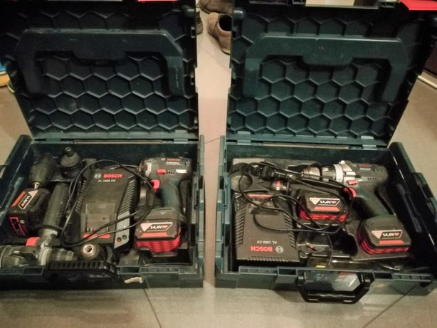 2 x wkrętarka BOSCH GSR 14,4 V-EC FC2 i GSR 14,4 VE-2-Li stan idealny