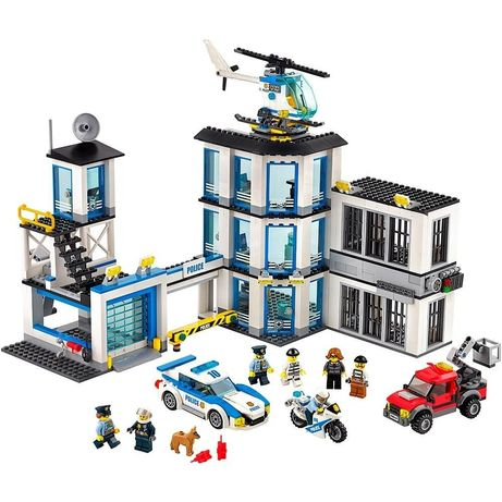 LEGO,  оригинал. Полиция,  полицейский участок, тюрьма, 60141