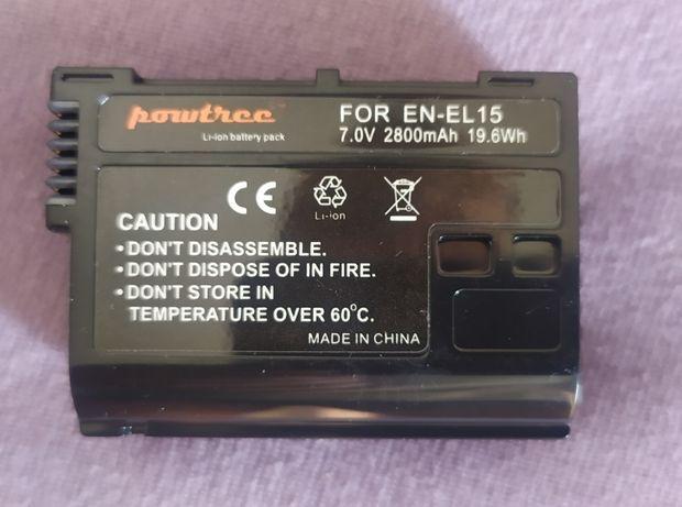 Bateria para Nikon D7000, 7100, 7500, D850, D810, D800 e D610