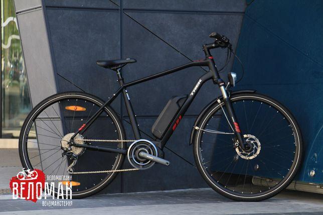 Электровелосипед Trek Dual Sport Plus 2018. Cube Giant Scott Bianchi