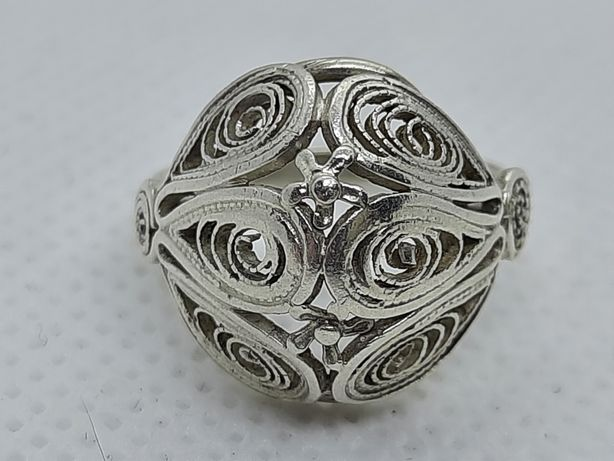 Srebrny pierścionek Imago Artis PRL
