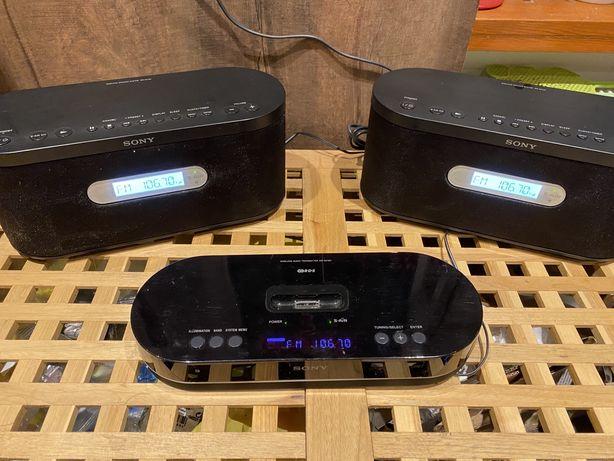 Sony AIR-SA15Ti z głośnikami bezprzewodowymi