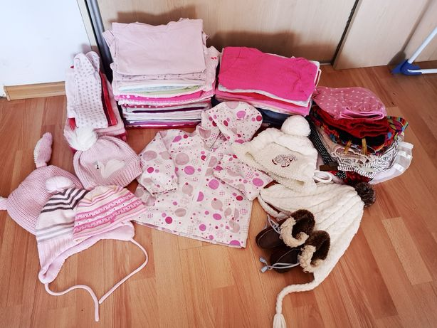 Mega paka zestaw ubrań 80-86