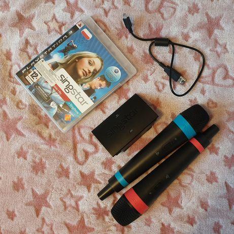 Singstar PS3 Karaoke Zestaw Sylwestrowy mikrofony Łódź Sylwester 20/21