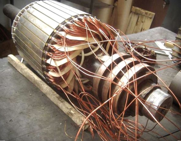 Ремонт електродвигунів гідравліки електропідсилювача електродвигателя