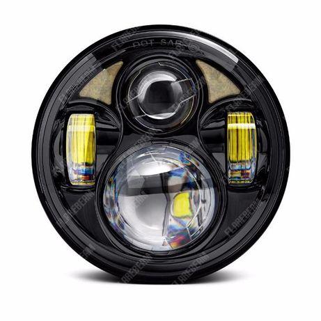 Фары LED на/для мотоцикла мото Harley Davidson Иж Урал МТ Ява Днепр