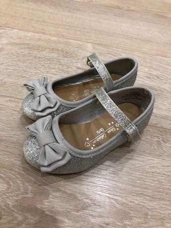 Нарядные туфли на девочку 23 размер стелька 14,5 см