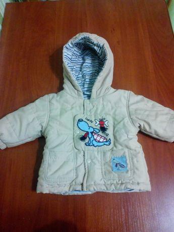 Деми курточка+штаны с подкладкой 68