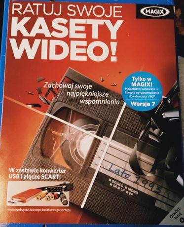 NOWY RATUJ SWOJE KASETY Wideo VHS Magix Video 7 Wersja po Polsku Box